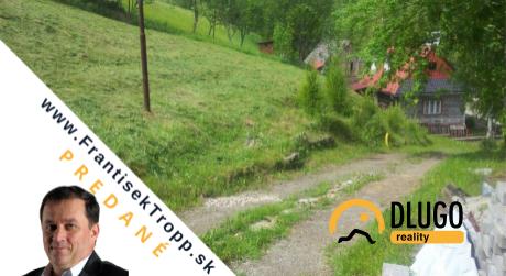 PREDANÉ: pozemok 1099 m2  Jezersko, okres Kežmarok.