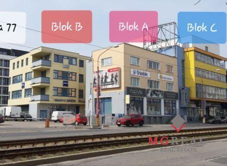 Samostatný administratívny open space celok 199m2, Račianska ul., Nové Mesto