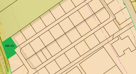 Na predaj stavebný pozemok  obci Svederník