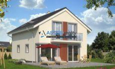 ASTER výstavba: 5-izb. murovaný rodinný dom, úžitková plocha 126m2, pozemok 628m2