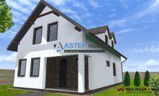 ASTER výstavba: 5-izb. murovaný rodinný dom, úžitková plocha 147m2, pozemok 628m2