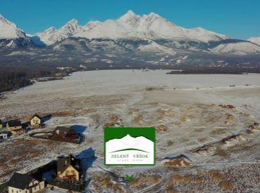 IBV ZELENÝ VŔŠOK Stav. pozemky v nádhernom prostredí Vysokých Tatier