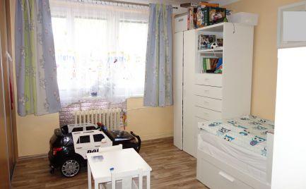 Zariadený 3-izbový byt 72 m2, 1x balkón, 1x lodžia na Sihoti II v Trenčíne