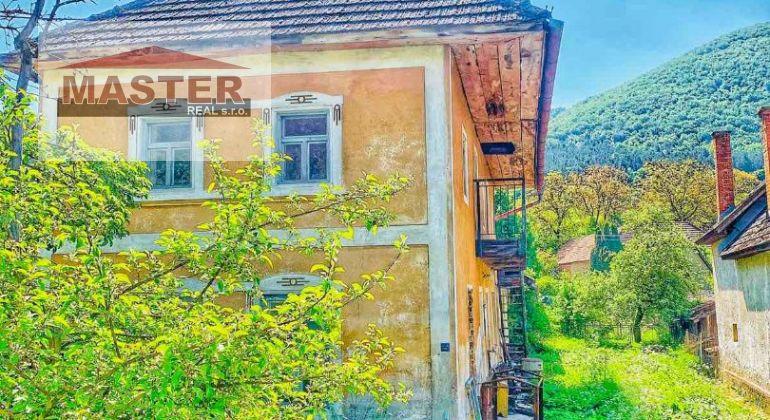 Na predaj starší domček v Šípkove,pozemok 600m2