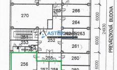 ASTER Prenájom: kancel. priestory, 74,1m2, Ružinov - BA II, ul. Pestovateľská