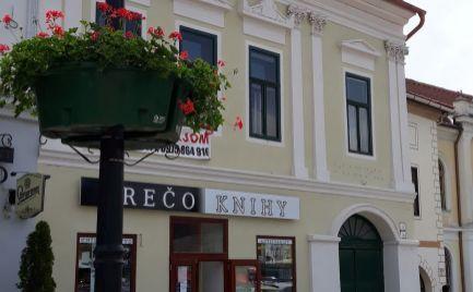Historická budova v centre mesta.