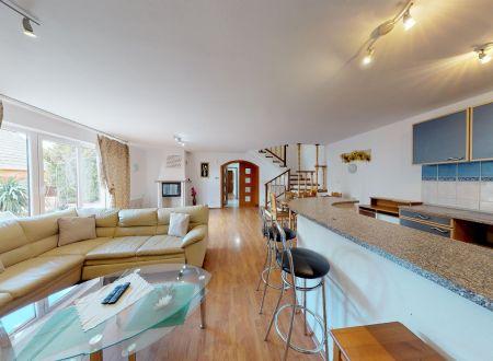 Rodinný 5 izb. dom + 2 izb.apartmán + suterén / Piešťany
