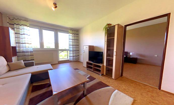 2izbovy byt so samostatnou kuchyňou, krásny výhľad, tichá lokalita