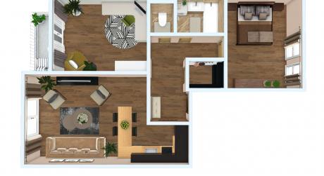 Krány 3-izbový byt v novostavbe na ulici Gábora Steinera