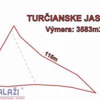 Rekreačný pozemok, Turčianske Jaseno, 3583 m², Pôvodný stav