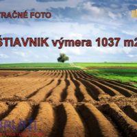 Poľnohospodárska pôda, Štiavnik, 1037 m²