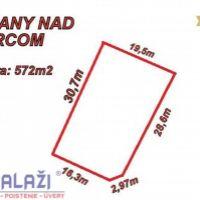 Pre bytovú výstavbu, Košťany nad Turcom, 572 m²