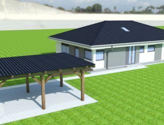 Novostavba 5 izbového bungalovu na predaj, Turčianske Kľačany, okres Martin