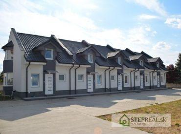 4- izbový rodinný dom za cenu bytu – uzavretý areál Sládkovičovo