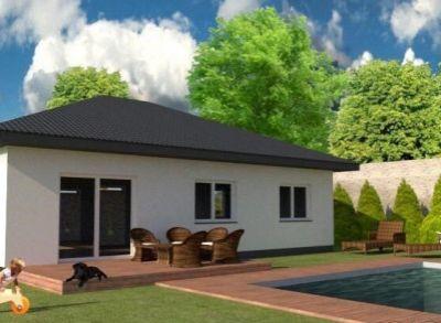 Priestranný kvalitne zhotovený 4-izbový rodinný dom v peknej časti Miloslavova