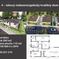 Rodinný dom, Golianovo, 115 m², Novostavba