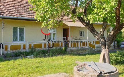 GEMINIBROKER Vám ponúka na predaj rodinný gazdovský dom v obci Vilyvitány (Maďarsko)