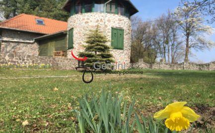 GEMINIBROKER Vám ponúka netypický kamenný dom v čarovnej prírode v obci Vágáshuta(Maďarsko)