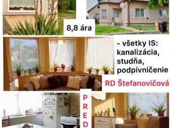 Predaj zrekonštruovaného 3.izb RD v Štefanovičovej pri Nitre s pozemkom ,8 ár v peknom prostredí