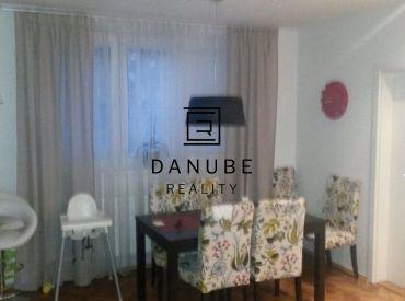 Prenájom zariadený 3-izbový byt v Bratislave-Ružinove na Muškátovej ulici.