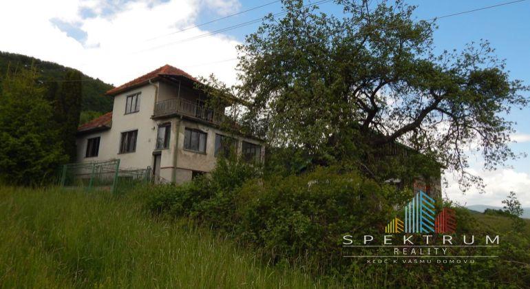 Na predaj 3 izbový rodinný dom 2332 m2, Horná Trnavka, okres Žiar Nad Hronom