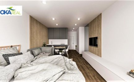 Na predaj apartmány v novom projekte Apartmány Žiarce pri vstupe do Demänovskej doliny.