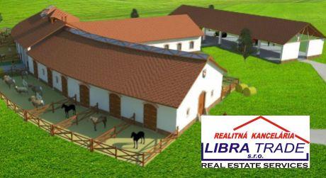 PREDAJ - Poľnohospodársky a stavebný pozemok s navrhnutou vizualizáciou BIO FARMY v Čičove