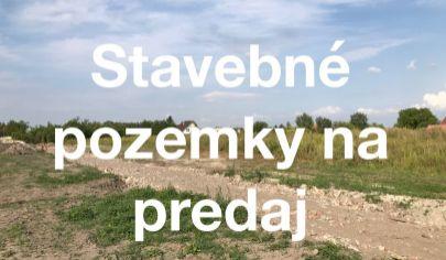 Pozemky pre rodinné domy - Masníkovo (iba 30km do Bratislavy)