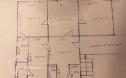 Veľký 4-izbový byt s garážou pre náročných v Rožňave