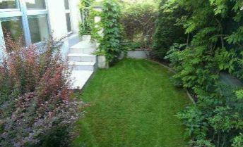 Na prenájom 4-izbový byt so záhradou a terasou pri Horskom parku