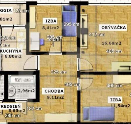 StarBrokers - PREDAJ - 3 izb. byt, Petržalka, ul Furdekova
