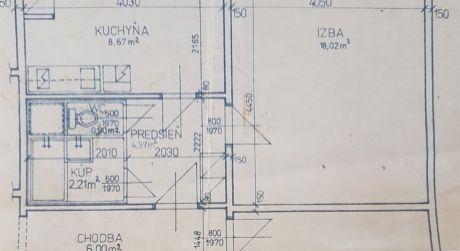 1-izbový byt na Nobelovom námestí