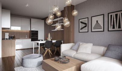 Krásny 2 izb. byt s terasou a loggiou v novostavbe Tehelné pole