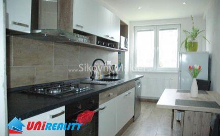 VEĽKÉ CHLIEVANY-  3 izbový byt / kompletná rekonštrukcia