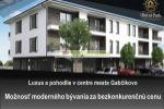 Predaj 2 izbového bytu v polifunkčnom dome v Gabčíkove