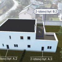 2 izbový byt, Rudinka, 62 m², Novostavba