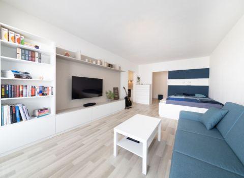 PREDANÝ- Na predaj krásny 1 izbový byt s balkónom S 3D PRIEHLIADKOU v novostavbe na Nobelovej