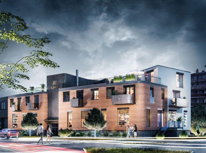 LIPÁR – 3-i byt, 71 m2 - v dotyku s HISTORICKÝM JADROM, Zámocký park, KOMUNITNÁ terasa, ÁTRIUM