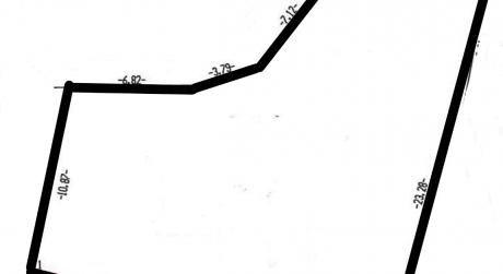 Menší stavebný pozemok Martin-Stráne