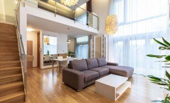 Exkluzívny 2-izbový loftový byt s terasou a záhradkou v komplexe Vinohradis