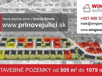 Stavebné pozemky Dolná Streda - Pri Novej