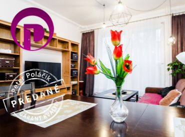 REZERVOVANÉ - 2,5i byt, 69 m2 – BA – Ružinov: so zateplenou loggiou a S VÝHĽADOM DO PARKU PLNÉHO ZELENE.