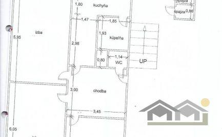 VÝHODNE na Chrenovej 1 predám čiastočne prerobený veľký 3 izb byt s balkónom