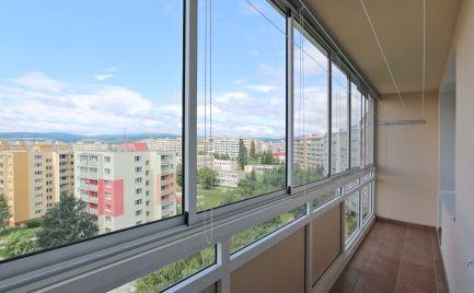 3 Izbový byt Clementisova ul., 58 m2, 6/8 p., 6m loggia