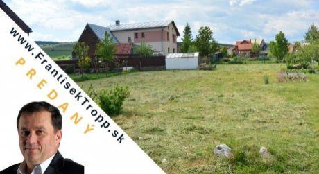 PREDANÝ Na predaj pozemok 597 m2, Ľubica, okres Kežmarok