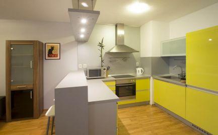 PRENÁJOM novostavba pri Auparku 2 izbový byt, Bratislava Petržalka Zadunajská ulica, Expisreal