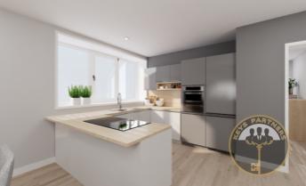 IBA U NÁS - jedinečný 3 izbový byt - BYT A v novostavbe bytového domu AMFIK HOUSE 2