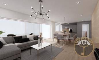 IBA U NÁS - jedinečný 3 izbový byt - BYT B v novostavbe bytového domu AMFIK HOUSE 2