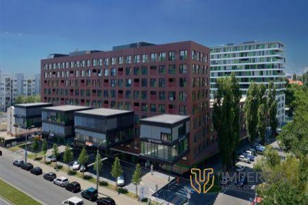 IMPEREAL - prenájom – kancelársky priestor 2. NP, 105,79 m2,  3 voľné kancelárie + zdieľaná zasadačka ,Košická ul., Bratislava II.