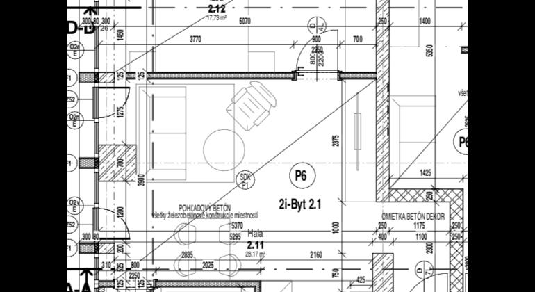 2- izbový byt v unikátnom projekte bytového komplexu TREENIUM